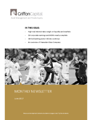 Griffon Monthly June 2017