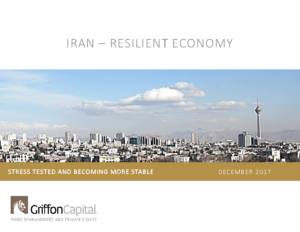 Iran – Resilient Economy – December 2017